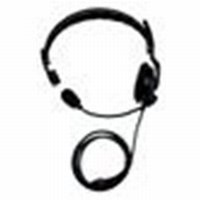 Kenwood Lightweight Single Muff Headset w/ Inline PTT - Part #KHS-7A