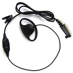 HYT Earset D In-Line Microphone PTT and Volume Control - Part #EHN07